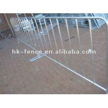 1 barricade en acier barricade barrière de contrôle des foules