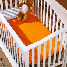 Super Soft 100% Bio-Baumwolle Krippe oder Kleinkind-Bettwäsche-Set, Baby Bettlaken
