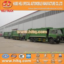 DONGFENG 6x4 16/20 m3 camion collecteur de déchets lourds moteur diesel 210hp avec mécanisme de pressage