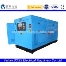 Weifang100KW 60HZ 3-фазный звукоизоляционный генератор мощности для продажи