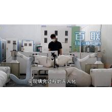 Machine de farce d'oreiller de fibre de boule
