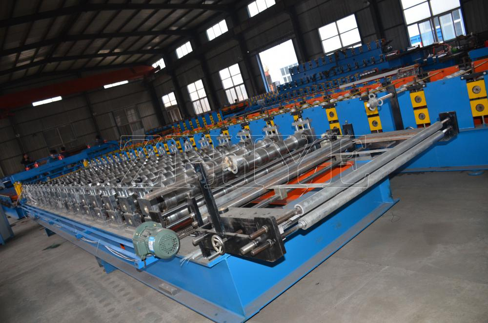 Ppgi Roofing Glazed Tile Process Production Line