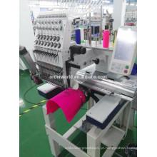 Máquina de bordar cabeça de tipo 1 de ordem com máquina de bordar sistema Dahao