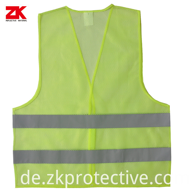 Mesh Yellow Safety Vests
