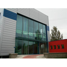 Modern Unusual Thermal Insulated Section Double Glass Wall