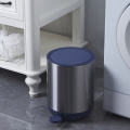 Stainless steel trash can