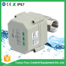 "1/2"" Dn15 12V 24V Ss304 Motorized Ball Electric Control Water Valve with Timer"