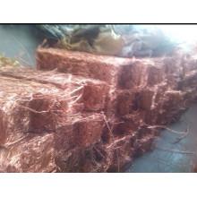 Sucata de cobre quente 99,9% / sucata de cobre Millberry