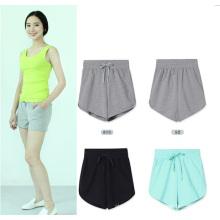 OEM mujeres verano ropa 2015 nueva moda deportes pantalones cortos