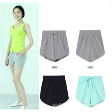 OEM Women Summer Clothing 2015 New Fashion Sports Short Trousers