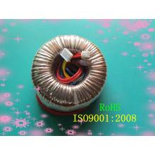 Transformateur de puissance toroïdal de 1200W RoHS