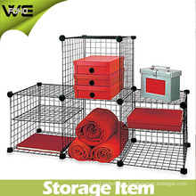 Metal Storage Units Modular Wire Shelving for Clothes