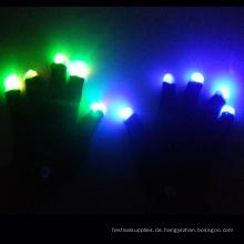 LED-Handschuh für die Party