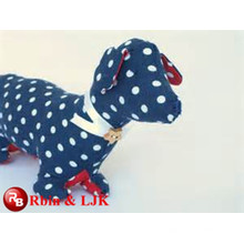OEM soft ICTI plush toy factory toy plush spotted dog