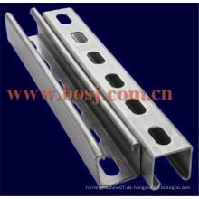 Galvanisierter C-Kanal-Metallstab-Rollenformungs-Produktionsmaschine Myanmar