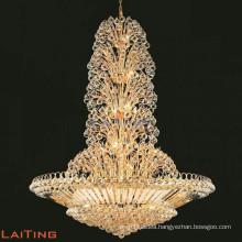 Large crystal chandelier for hotel empire crystal chandelier