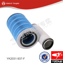 YK2031-937-F original Yuchai air filter for YC4D engine
