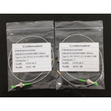 Coleta del colimador de la fibra óptica con los conectores de FC / APC 0.9mm