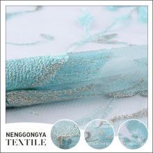 Oem service Designer broderie douce tissu décoratif