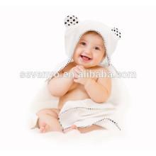 100% Orgânico Bambu Com Capuz Toalha de Banho Do Bebê Duplo Grosso Macio e Quente Hipoalergênico Toalha Do Bebê para o Infante, Recém-nascido, presente da menina menino