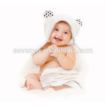 100% органических бамбука с капюшоном ребенок полотенце двойной толстый мягкий теплый гипоаллергенный Детское полотенце для новорожденных, новорожденный, мальчик, подарок девушке