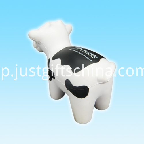 Promotional PU Cow Shape Stress Ball3