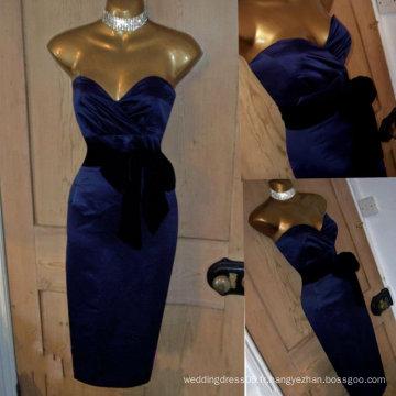 Sexy 50s repro Satin bretelles Wiggle Pencil Dress GP028