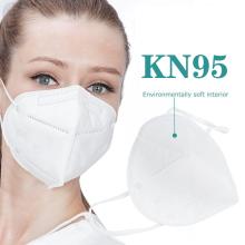 Respirateur facial 5 plis KN95 avec couche filtrante