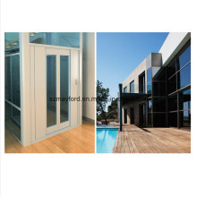 630kg Good Quality Villa Elevator with Safety Glass