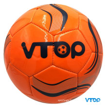 Orange Color Machine Stitched Football High Quality