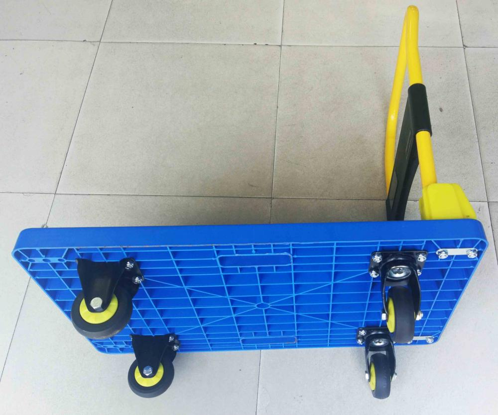 200kgs Platform Hand Cart Folding Trolly Push Dolly Bottom View