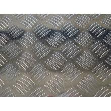 Lâmina de alumínio em relevo Chines fabricante
