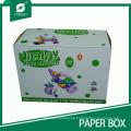 Varnish Corrugated Cardboard Boxes for Kids