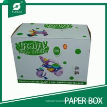 Caixas de papelão ondulado de verniz para crianças