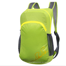 Bolsa plegable al aire libre, mochila para niños
