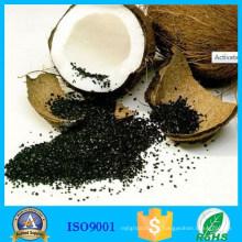 Carbone activé par noix de coco d'approvisionnement d'usine pour la récupération d'or