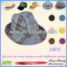 LSF17 2014 Fábrica Fábrica de Venda de Directo Chapéu de Fedora chapéu de chapéu de moda chapéu de camionista de tecido de malha mundo