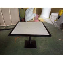 High Quality Artificial Marble/Solid Surface Restaurant Table (FOH-JTC1)
