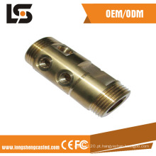 Motocicleta Peças Customized CNC Machined Brass Fittings Motorcycle Parts
