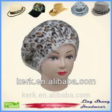 Gorra de punto de moda de moda / Sombrero Gorra de invierno de punto hecho punto de lana de punto / Sombrero