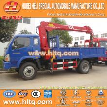 FOTON 4x2 3.2 tons XCMG crane crane truck 130hp hot sale for export