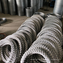 Double Coil Concertina Razor Barbed Wire Rolls for sale