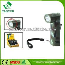 Aluminium LED Taschenlampe 12000-15000MCD LED Taschenlampe Fackel mit Gurt