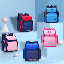 New Model Durable Water-Proof Large-Size Customized Lightweight Private Label Children School Bags for Boys Girls
