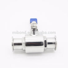 SS304/316l Food grade 2PC triclamp ball valve Stainless Steel
