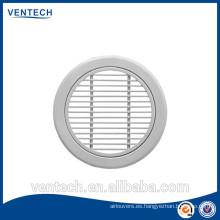 Rejilla de barra de ventilación de aire redondo