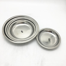 Hotel Used Stainless Steel Sauce Dish Set/Serving Tray Dinner Plate Restaurant
