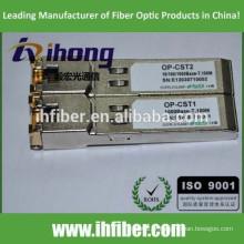 Émetteur-récepteur SFP en cuivre compatible avec différents commutateurs