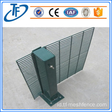 3.0m Tinggi 358 Prison Mesh Security Fencing