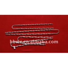 Weichuang Galvanized Steel Preformed Armor Rod para ADSS / OPGW